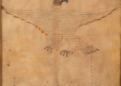 Les calligrammes du manuscrit d'Aratea 820 (8)