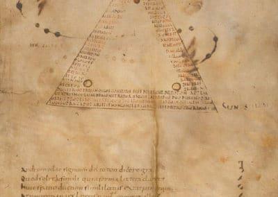 Les calligrammes du manuscrit d'Aratea 820 (9)