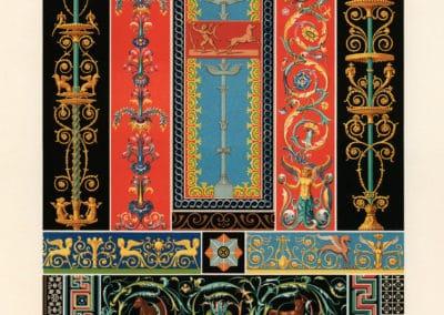 L'ornement polychrome - Albert Racinet 1869 (5)