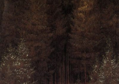 Nella foresta - Caspar David Friedrich (1814)