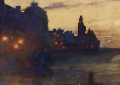 Nocturne - Paul Albert Besnard (1885)