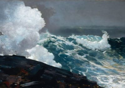 Northeaster - Winslow Homer (1895)