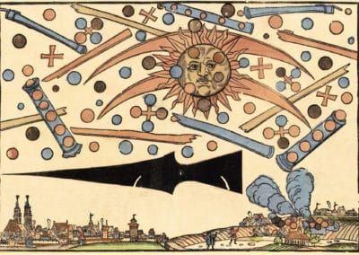 Phénomène céleste de Nuremberg - Hans Glaser 1561 (3)