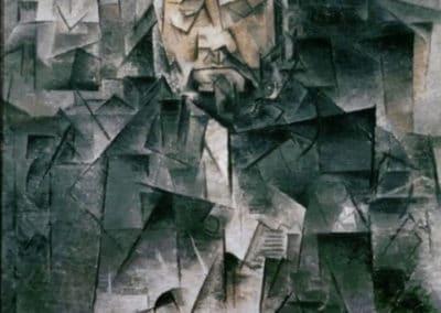 Portrait du marchand d'art Ambroise Vollard - Pablo Picasso (1910)