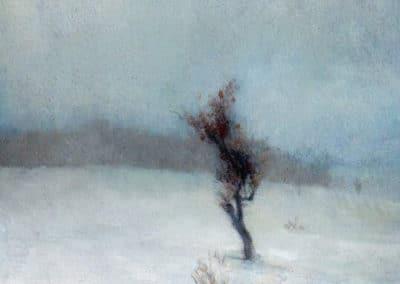 Snow storm - John La Farge (1865)
