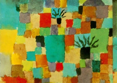 Southern (Tunisian) gardens - Paul Klee (1932)