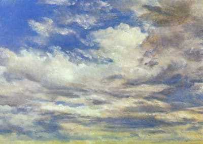 Study of clouds - John Constable (1822)