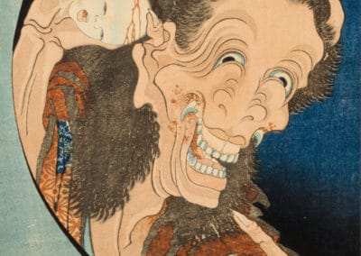 Cent histoires de fantômes - Katsushika Hokusai 1830 (2)