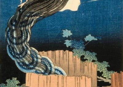 Cent histoires de fantômes - Katsushika Hokusai 1830 (3)