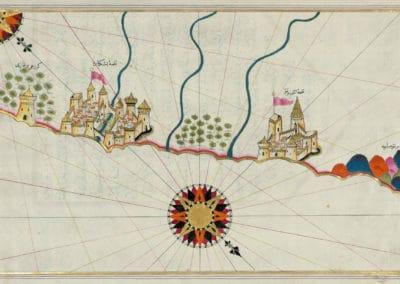Le Kitab-ı Bahriye - Piri Reis 1521 (1)