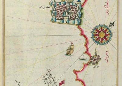 Le Kitab-ı Bahriye - Piri Reis 1521 (10)