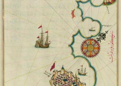Le Kitab-ı Bahriye - Piri Reis 1521 (11)