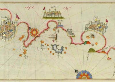 Le Kitab-ı Bahriye - Piri Reis 1521 (12)