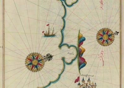 Le Kitab-ı Bahriye - Piri Reis 1521 (13)