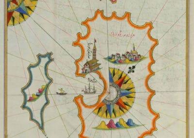 Le Kitab-ı Bahriye - Piri Reis 1521 (15)