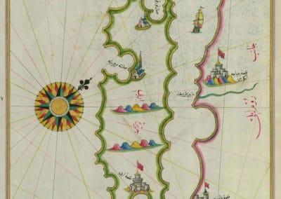 Le Kitab-ı Bahriye - Piri Reis 1521 (16)
