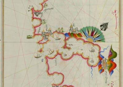Le Kitab-ı Bahriye - Piri Reis 1521 (17)