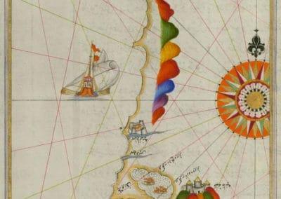 Le Kitab-ı Bahriye - Piri Reis 1521 (18)