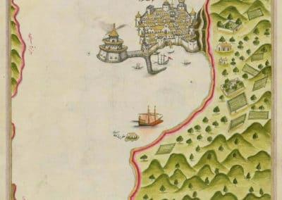 Le Kitab-ı Bahriye - Piri Reis 1521 (19)