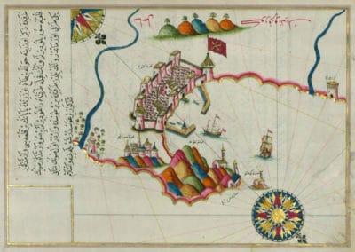 Le Kitab-ı Bahriye - Piri Reis 1521 (2)