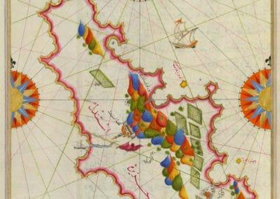 Le Kitab-ı Bahriye - Piri Reis 1521 (21)