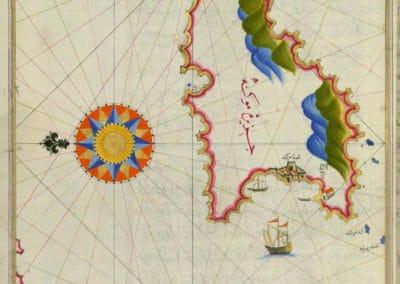 Le Kitab-ı Bahriye - Piri Reis 1521 (22)