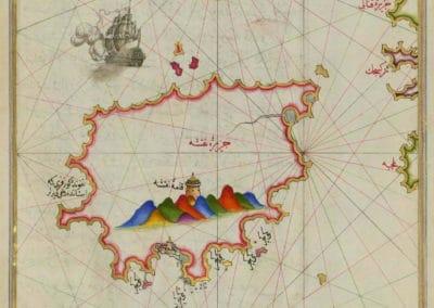 Le Kitab-ı Bahriye - Piri Reis 1521 (23)