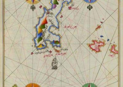 Le Kitab-ı Bahriye - Piri Reis 1521 (24)