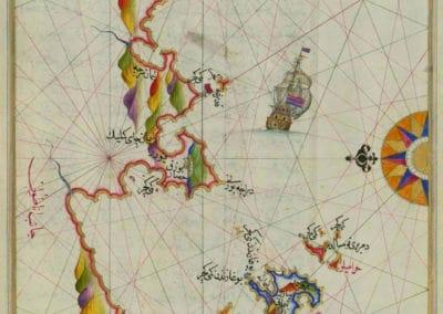 Le Kitab-ı Bahriye - Piri Reis 1521 (25)