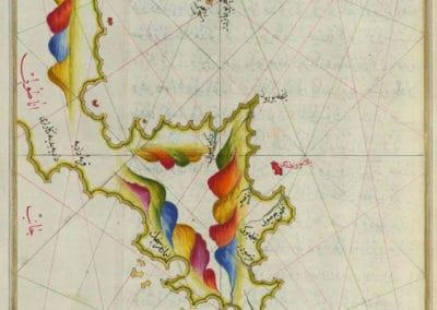 Le Kitab-ı Bahriye - Piri Reis 1521 (26)