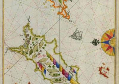 Le Kitab-ı Bahriye - Piri Reis 1521 (27)