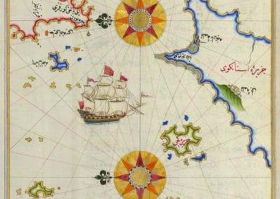 Le Kitab-ı Bahriye - Piri Reis 1521 (28)