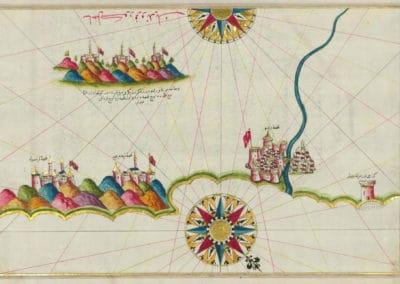 Le Kitab-ı Bahriye - Piri Reis 1521 (3)
