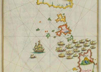 Le Kitab-ı Bahriye - Piri Reis 1521 (30)