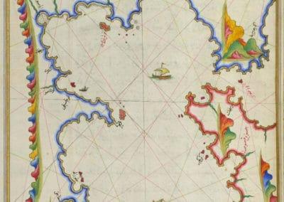 Le Kitab-ı Bahriye - Piri Reis 1521 (31)
