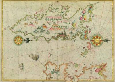 Le Kitab-ı Bahriye - Piri Reis 1521 (32)