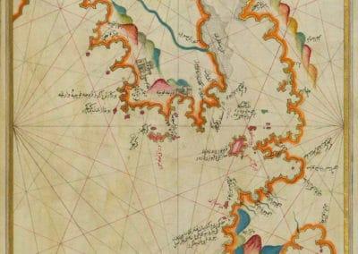 Le Kitab-ı Bahriye - Piri Reis 1521 (33)