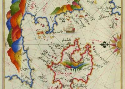 Le Kitab-ı Bahriye - Piri Reis 1521 (34)