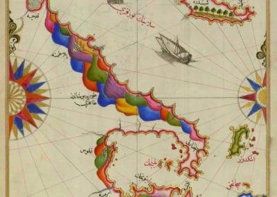 Le Kitab-ı Bahriye - Piri Reis 1521 (36)