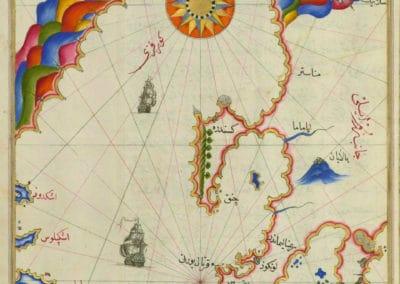 Le Kitab-ı Bahriye - Piri Reis 1521 (37)