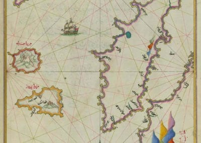 Le Kitab-ı Bahriye - Piri Reis 1521 (38)