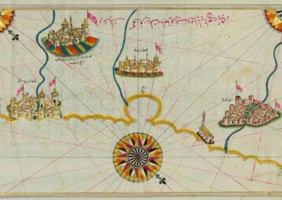 Le Kitab-ı Bahriye - Piri Reis 1521 (4)