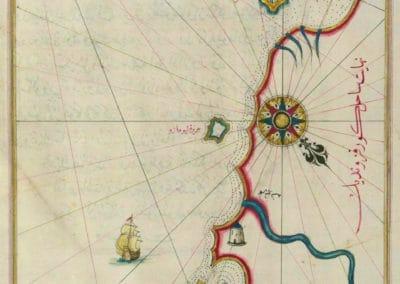 Le Kitab-ı Bahriye - Piri Reis 1521 (6)
