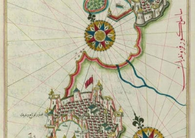 Le Kitab-ı Bahriye - Piri Reis 1521 (8)