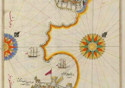 Le Kitab-ı Bahriye - Piri Reis 1521 (9)