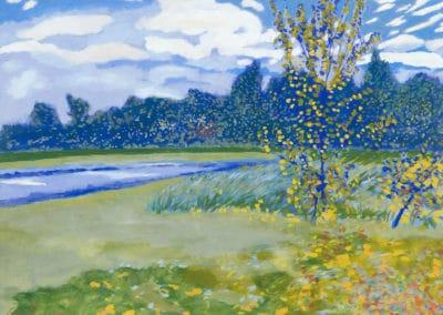 Le petit bois d'Ostende - Léon Spilliaert (1922)