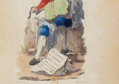 Les cris de Paris - Michel Poisson 1774 (1)