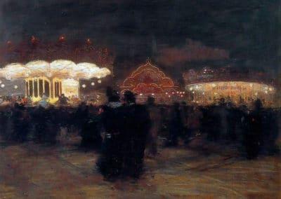 Luna Park, Paris - Giacomo Balla (1900)