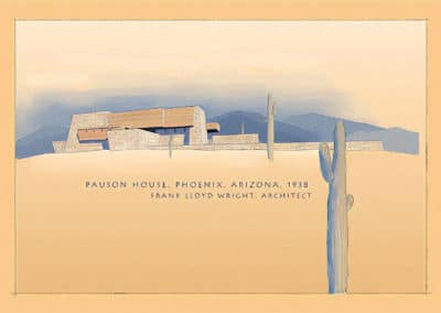 Rose Pauson House - Frank Lloyd Wright 1939 (2)