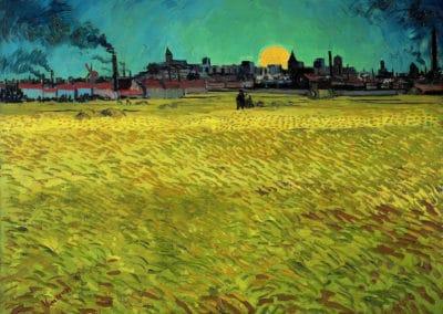 Soir d'été - Vincent van Gogh (1888)